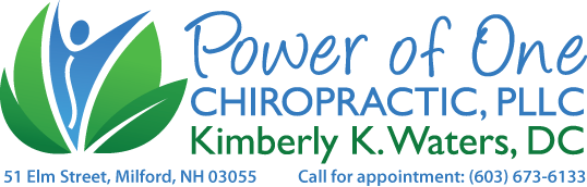 Power of One Chiropractic PLLC :: Kimberly K. Waters, DC :: Milford, NH